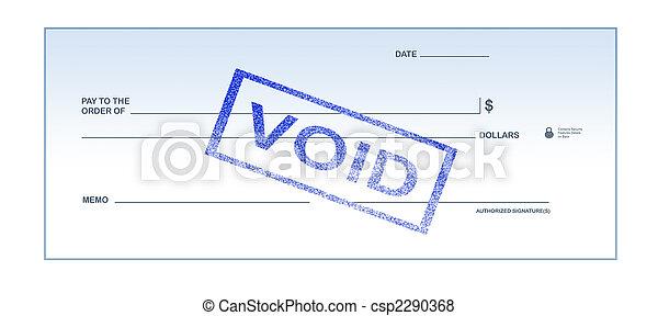 Void Blank Check - csp2290368