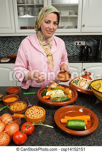 Voil cuisine femme europ en moderne ramadan marocain immigr traditionnel nuits - Cuisine maghrebine pour ramadan ...