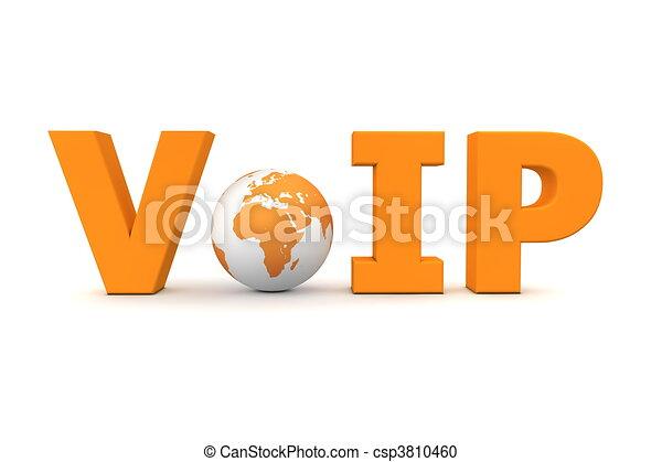 VoIP World Orange - Small Globe - csp3810460