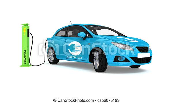 voiture lectrique voiture bleue lectrique recharge. Black Bedroom Furniture Sets. Home Design Ideas