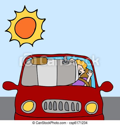 voiture bouclier ombre soleil t bouclier voiture vecteur eps rechercher des clip. Black Bedroom Furniture Sets. Home Design Ideas