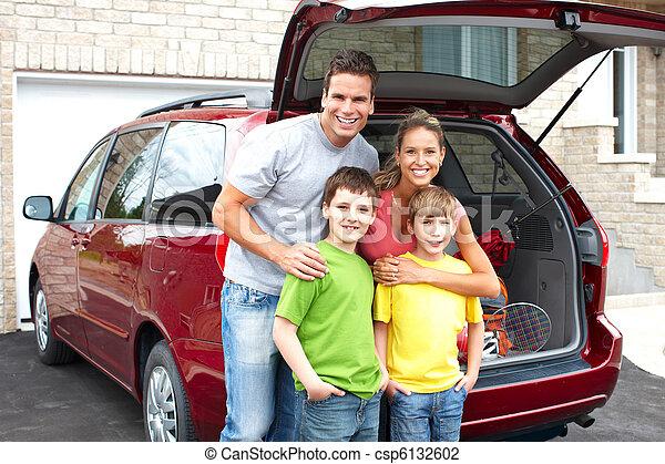 voiture, famille - csp6132602