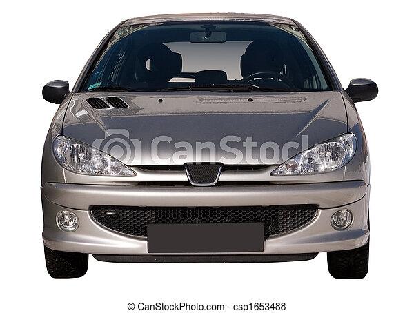 voiture, isolé - csp1653488