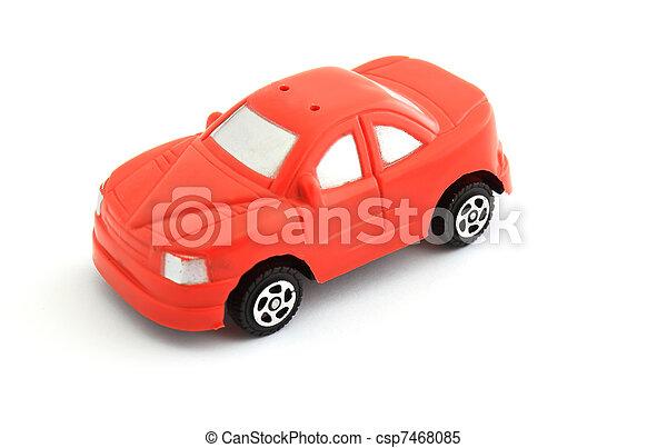 voiture jouet, rouges - csp7468085