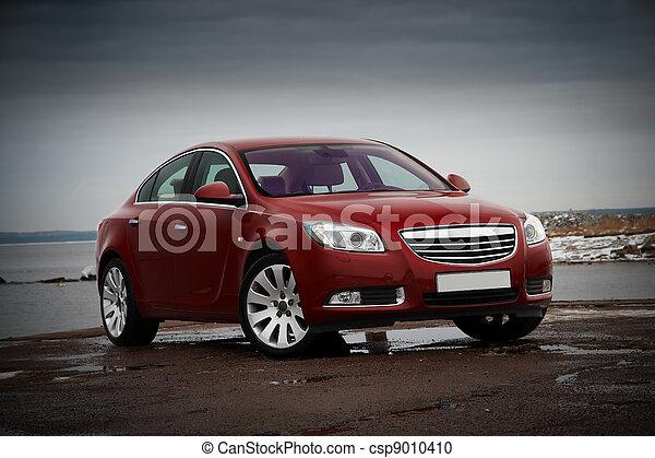 voiture, rouges, business - csp9010410