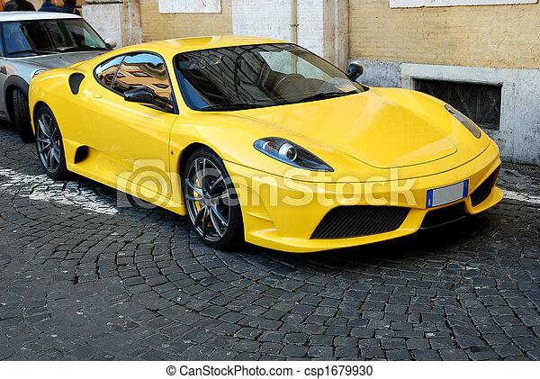 voiture, sports - csp1679930