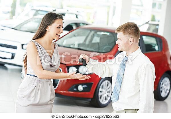 voiture, vente, ou, achat, auto - csp27622563