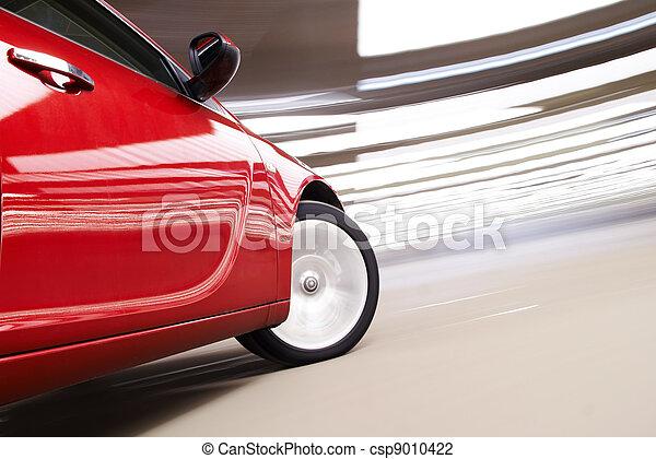 voiture, vertige - csp9010422