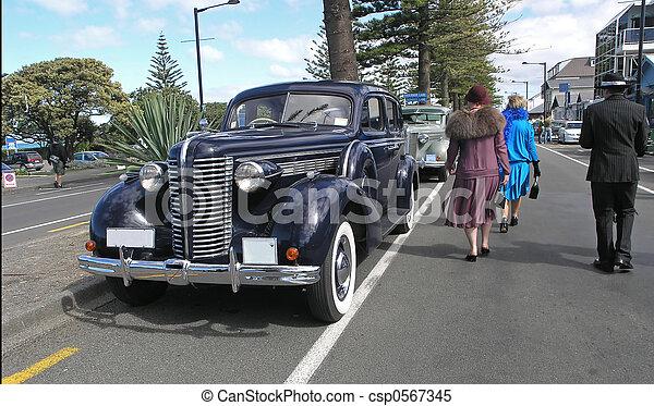 voiture, vieux - csp0567345