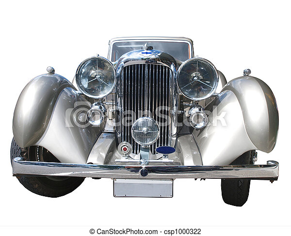 voiture, vieux - csp1000322