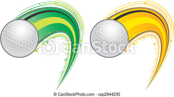 volare, palla golf - csp2944235