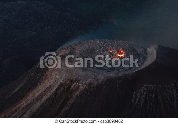 Volcano santiaguito guatemala - csp3090462