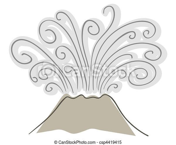 volcano  - csp4419415