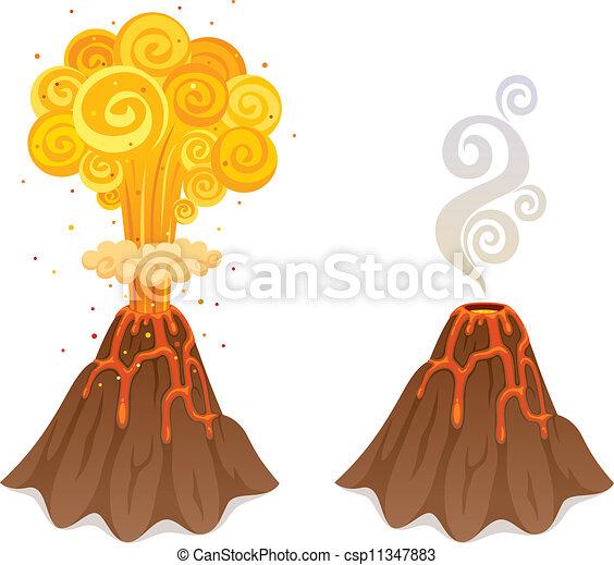 Volcano - csp11347883