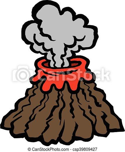 Volcano - csp39809427