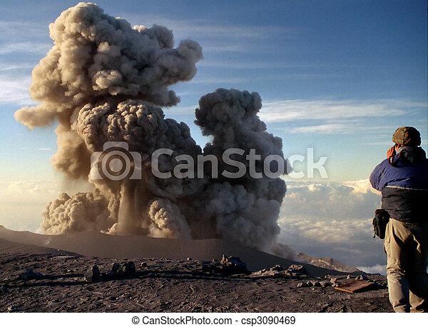 Volcano Semeru Eruption - csp3090469