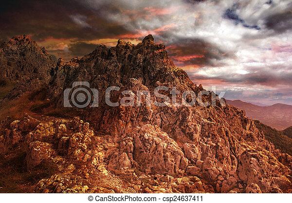 Volcanoe - csp24637411