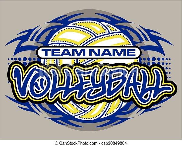 Voleibol - csp30849804