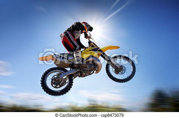 voler, moto - csp8473079