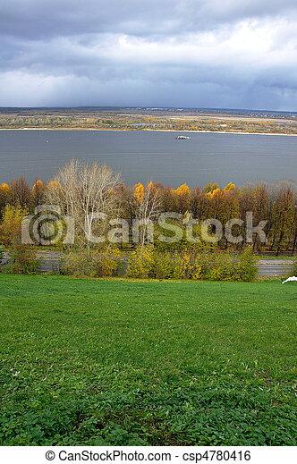 Volga River - csp4780416