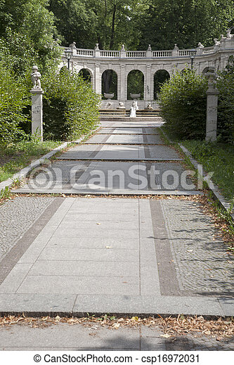 Volkspark Friedrichshain Park, Berlin, Germany - csp16972031
