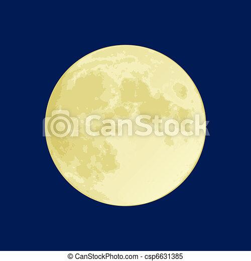 volle maan - csp6631385