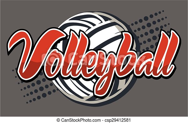 volley-ball, conception - csp29412581