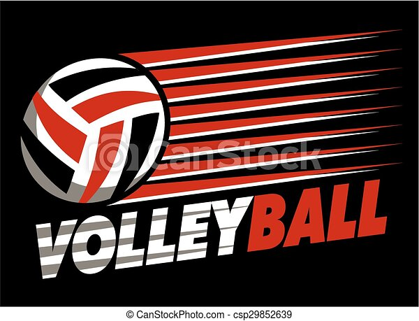 volley-ball, conception - csp29852639
