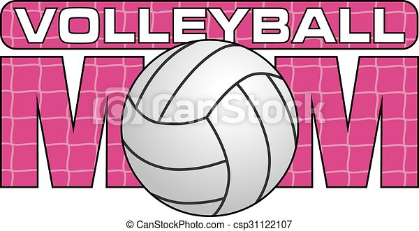volley-ball, maman - csp31122107
