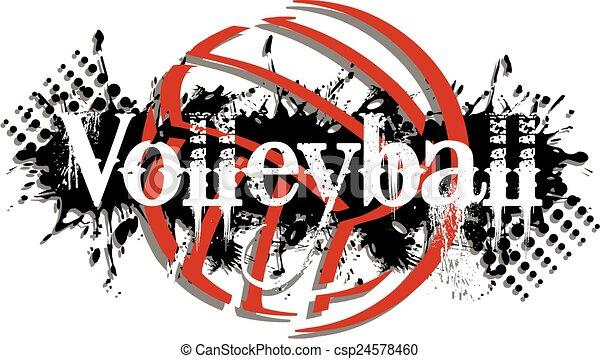 volleyball - csp24578460
