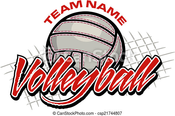 volleyball team design - csp21744807