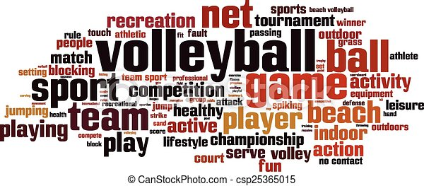 volleyball word