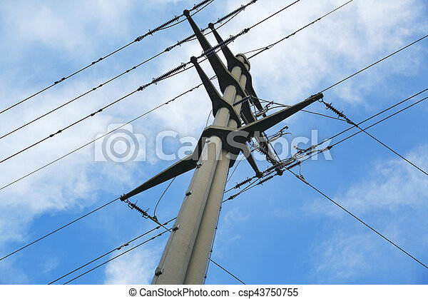 voltage power pole - csp43750755