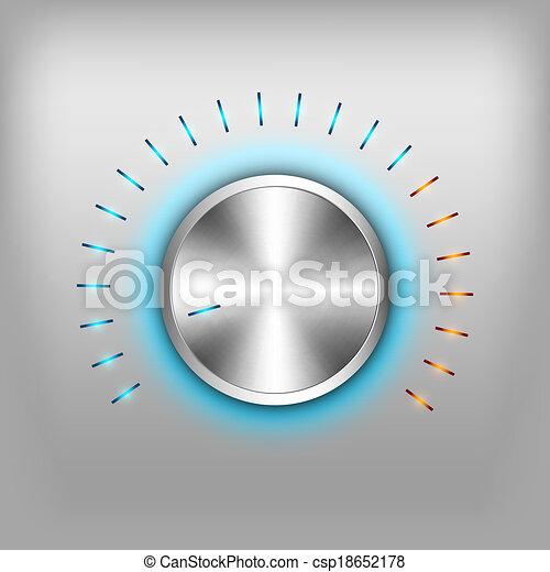 Volume Button - csp18652178