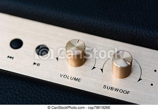 volume button on speaker bluetooth - csp79619266
