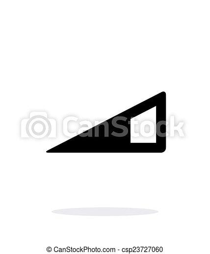 Volume control indicator icon on white background. - csp23727060