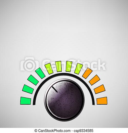 volume knob - csp9334585