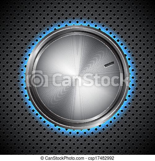 Volume knob - csp17482992