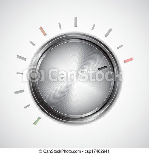 Volume knob - csp17482941