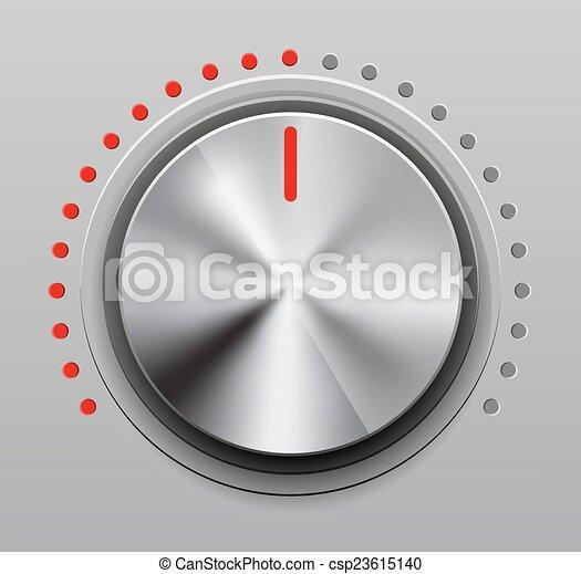 Volume knob - csp23615140