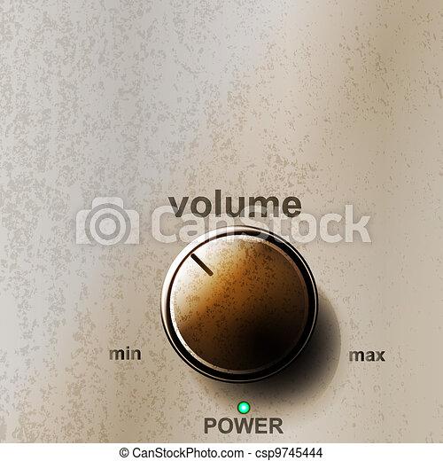volume knob - csp9745444