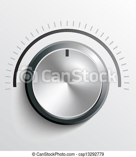 Volume knob - csp13292779