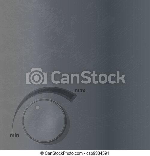 volume knob - csp9334591
