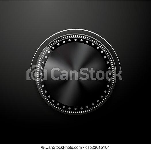 Volume knob - csp23615104