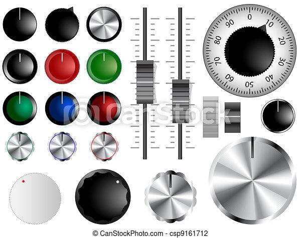 Volume knobs - csp9161712