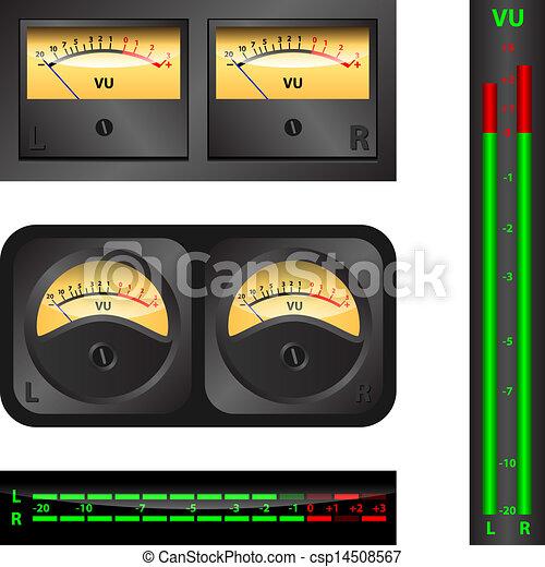 Volume Unit meter - csp14508567