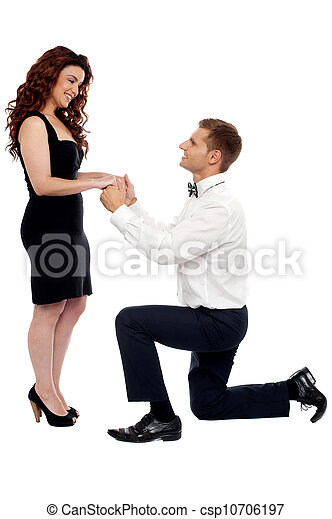 vontade, tu, casar, me? - csp10706197
