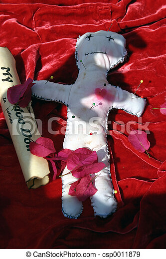 Voodoo Doll #4 - csp0011879