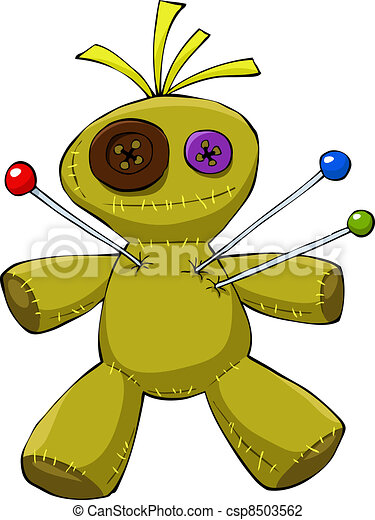 Voodoo doll - csp8503562
