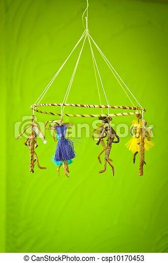 Voodoo mobile dolls hand made - csp10170453